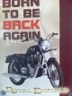 ROYAL ENFIELD POSTER  -born to be back again-